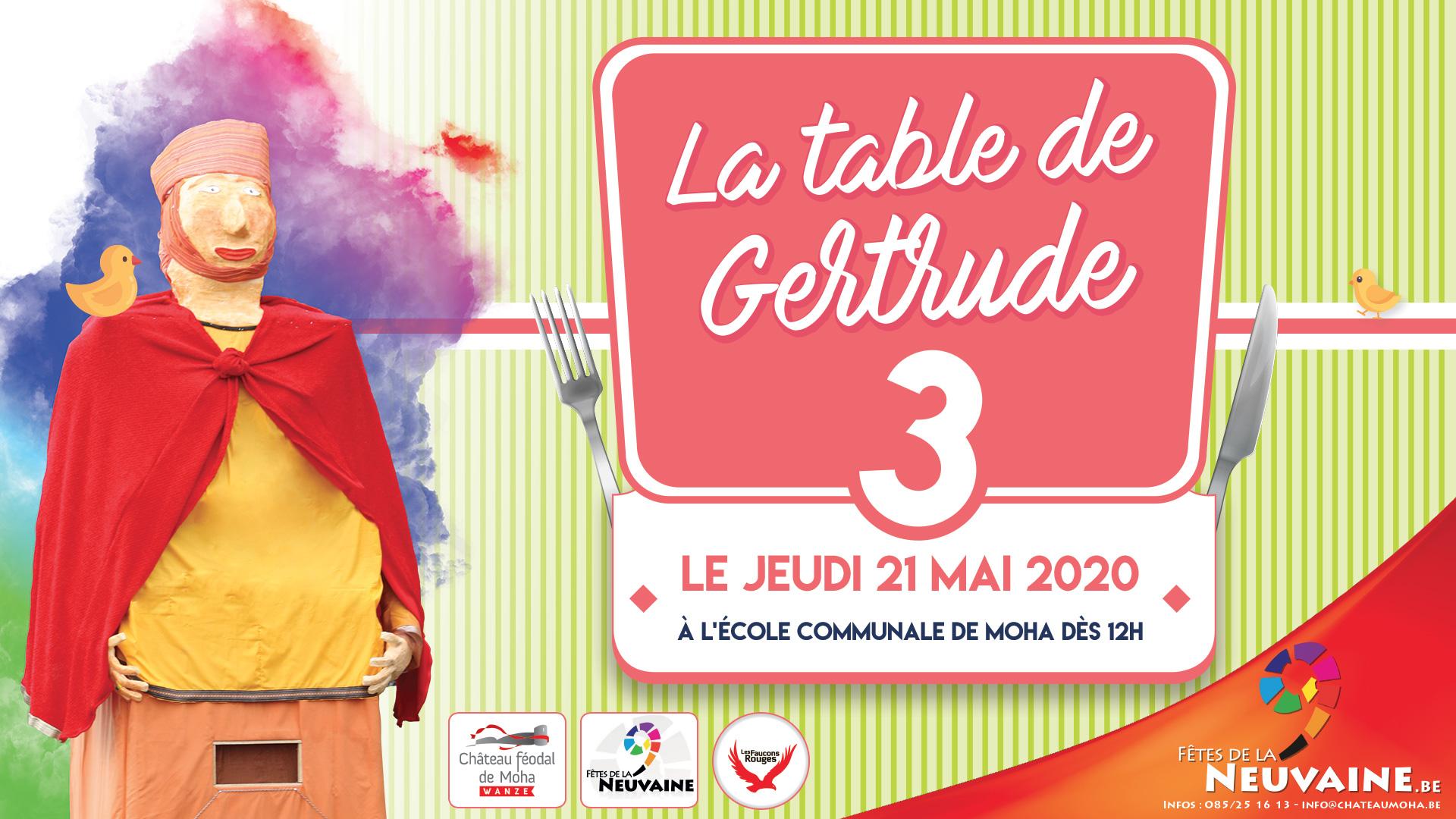 La table de Gertrude