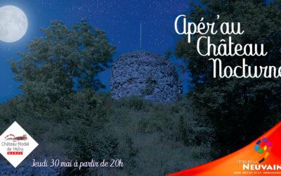 Apér'au Château nocturne